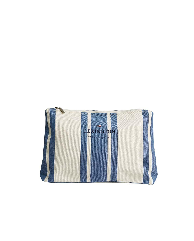 Three Mile Bag, Blue/White Stripe