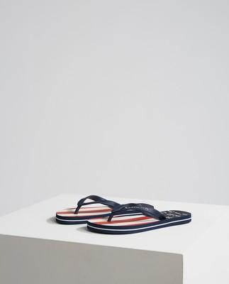 Orlando Flipflop Size: 36/37-43/44, Red/White Stripe