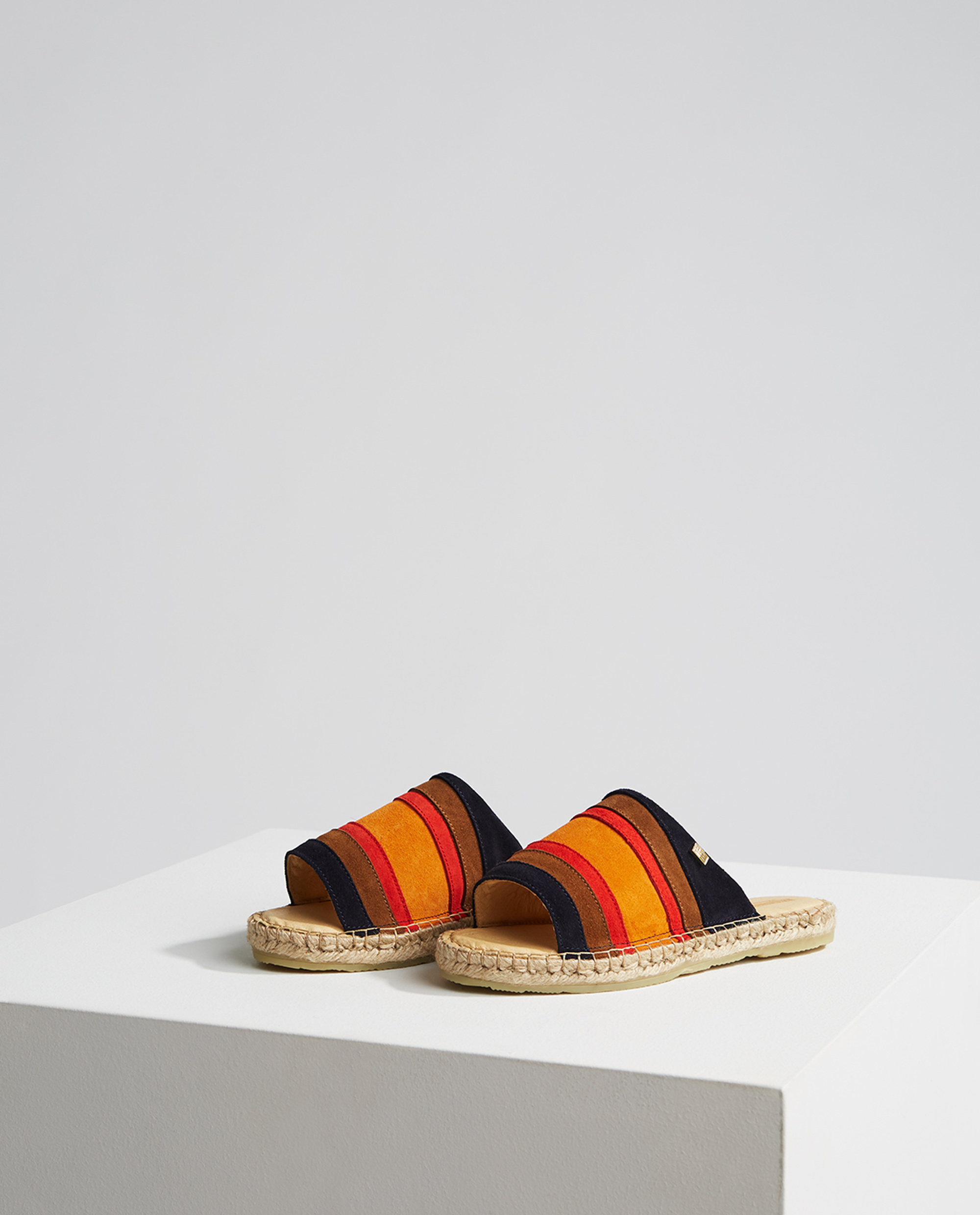 Liverly Sandals, Mutli Stripe