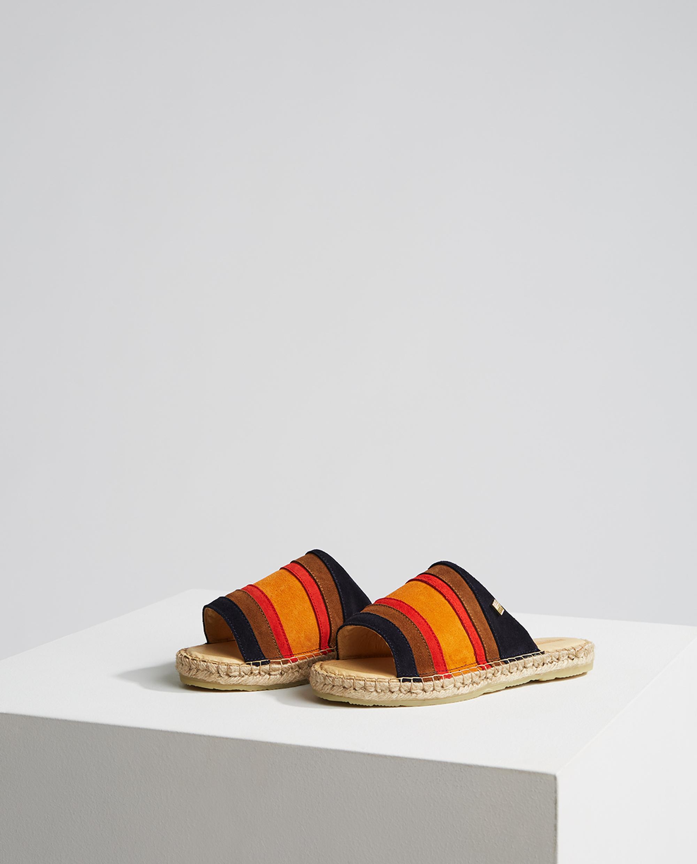 Liverly Sandals, Mutli Stripe
