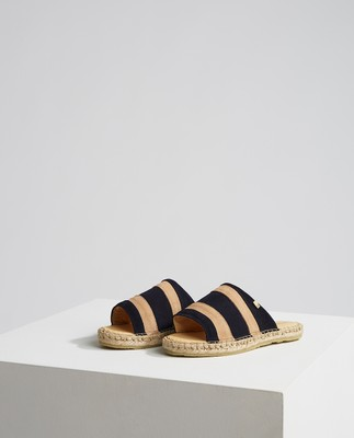 Dark Blue/Beige Stripe