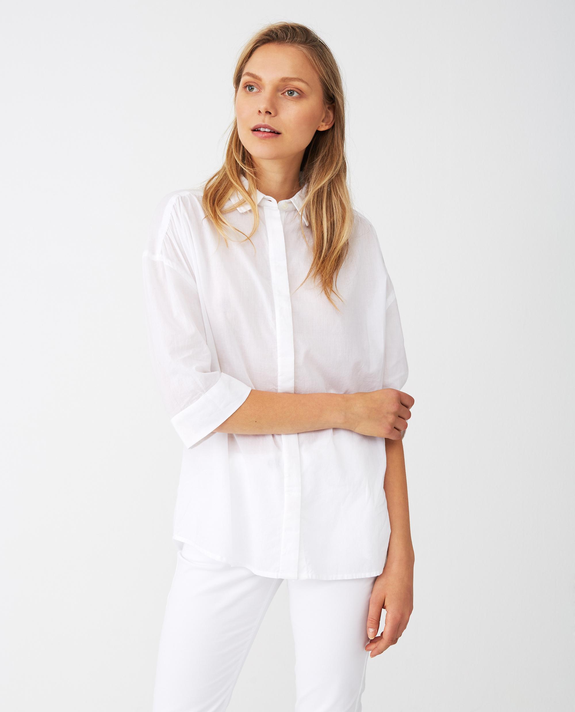 Olympia Shirt, White