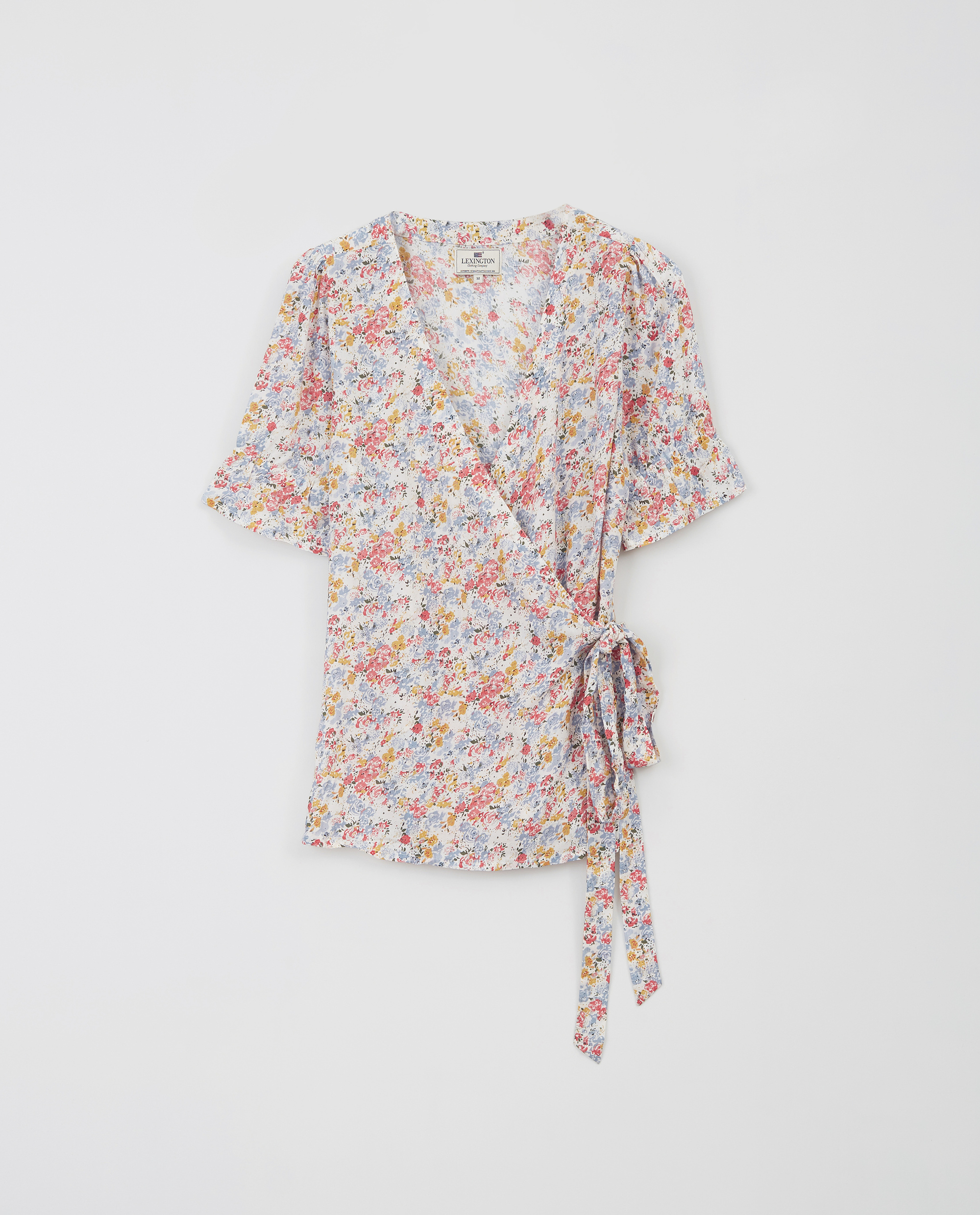 Tula Wrap Top, Meadow Print