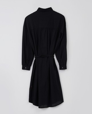 Renee Shirt Dress, Black