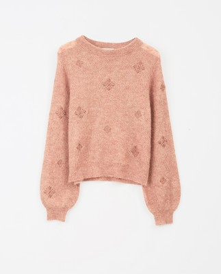 Adelia Sweater, Pink