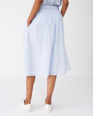 Julie Skirt, Blue/White Stripe
