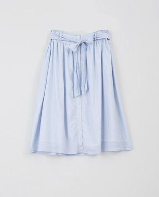 Julie Skirt, Blue/White Stripe