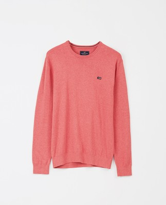 Bradley Crew Neck Sweater, Red