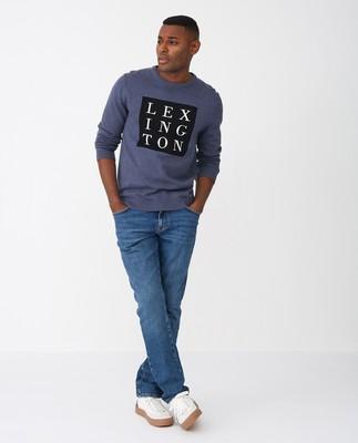 Luis Sweater, Blue Melange