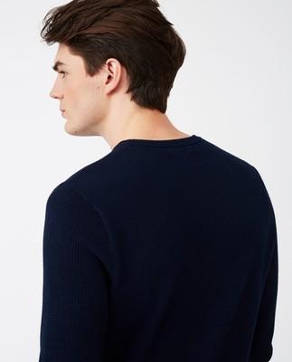 Graham Sweater, Dark Blue