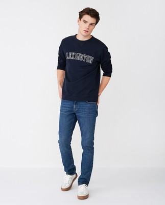 Lucas Sweatshirt, Dark Blue