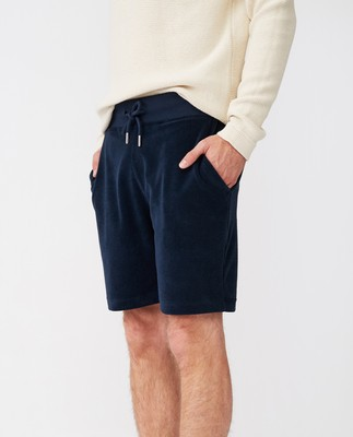 Brutus Terry Shorts, Dark Blue