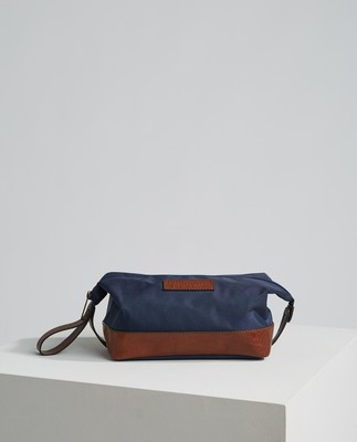 Darby Toilet Bag, Dark Blue