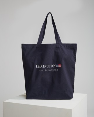 Lexington Organic Cotton Bag, Dark Blue