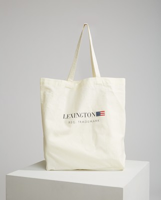 Lexington Organic Cotton Bag, White