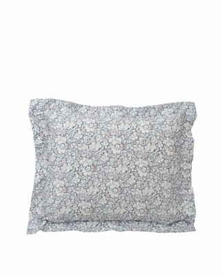 Printed Sateen Pillowcase, Multi