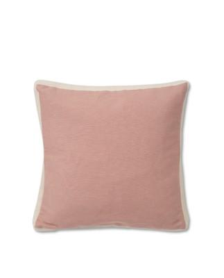 Cotton Jute Sham, Pink