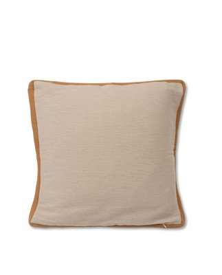 Cotton Jute Sham, Beige