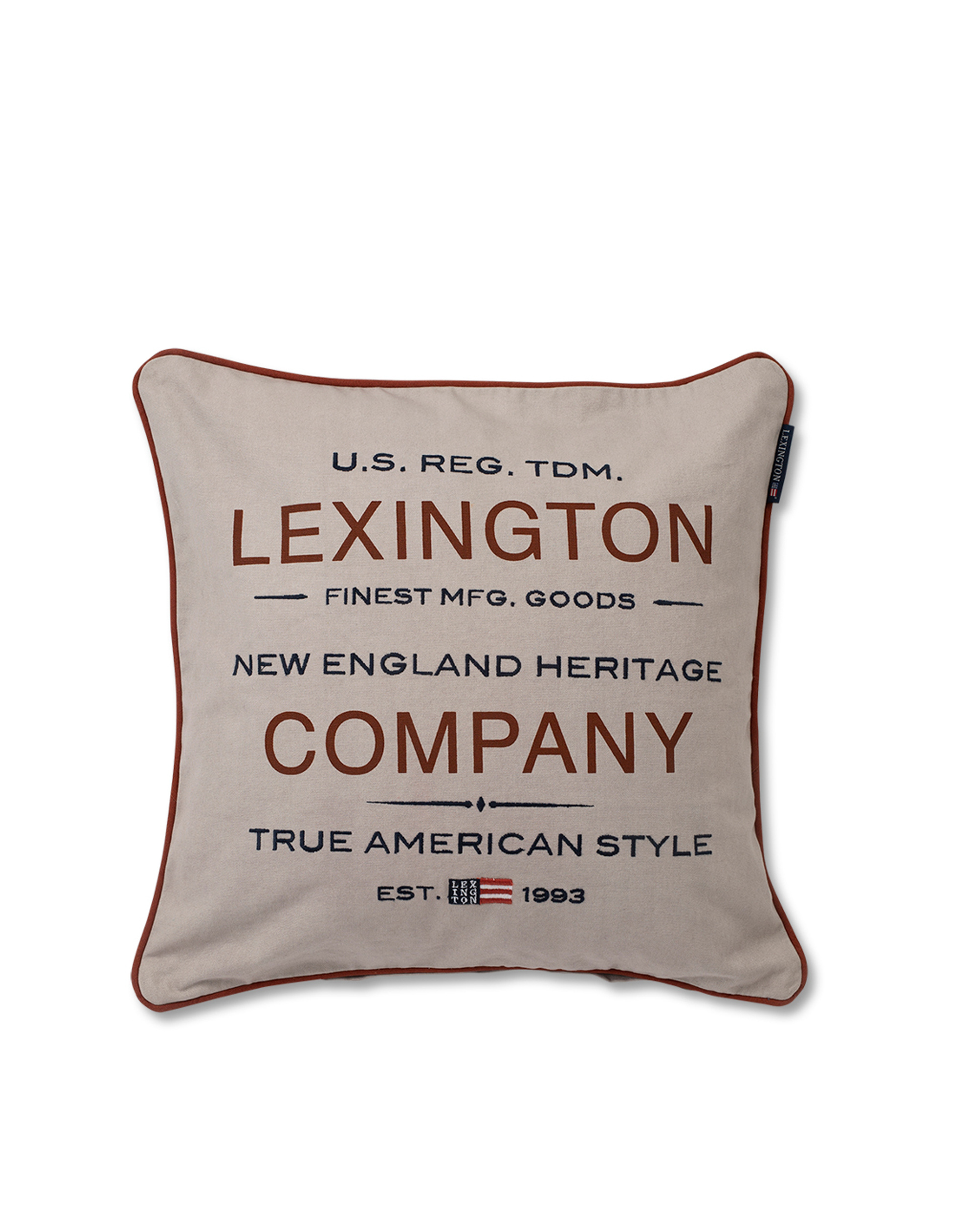 Lexington Beige Logo Sham