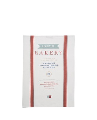 Bakery Kitchen Towel, White