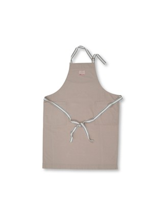 Canvas Apron High, Beige