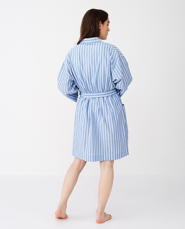 Women's Organic Cotton Striped Kimono