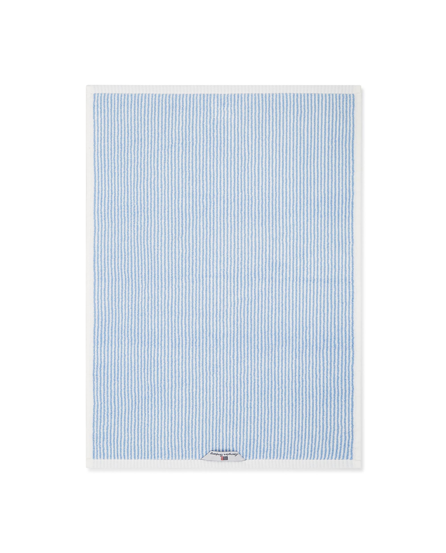 Original Towel White/Blue Striped