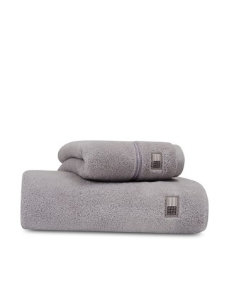 Lexington Hotel Towel Light Gray/Gray