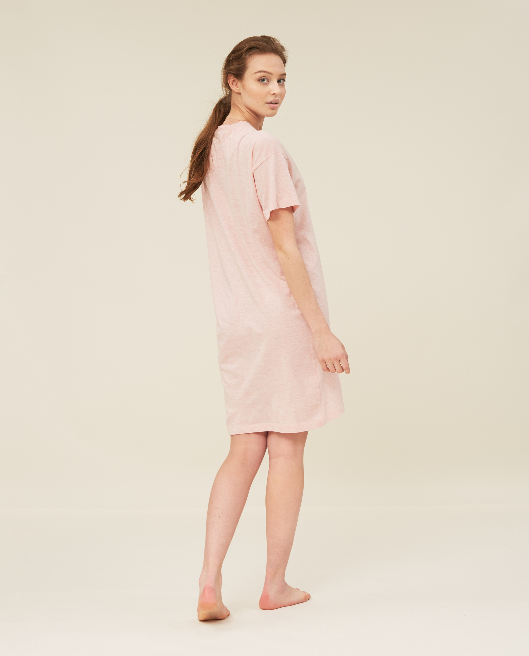 Women's Organic Cotton Nightgown Pink