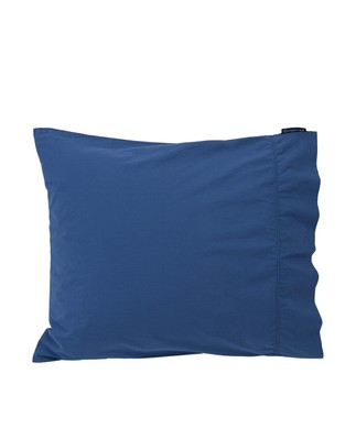 Blue Washed Cotton Pillowcase