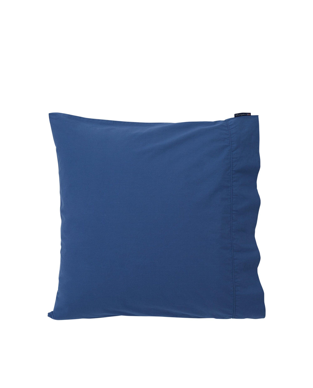 Blue Washed Cotton Pillowcase