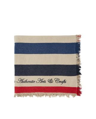 Block Striped Cotton Blanket