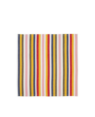 Multi Striped Cotton Napkin, Multi