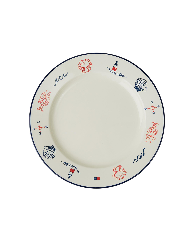 Blue Sea Serving Plate