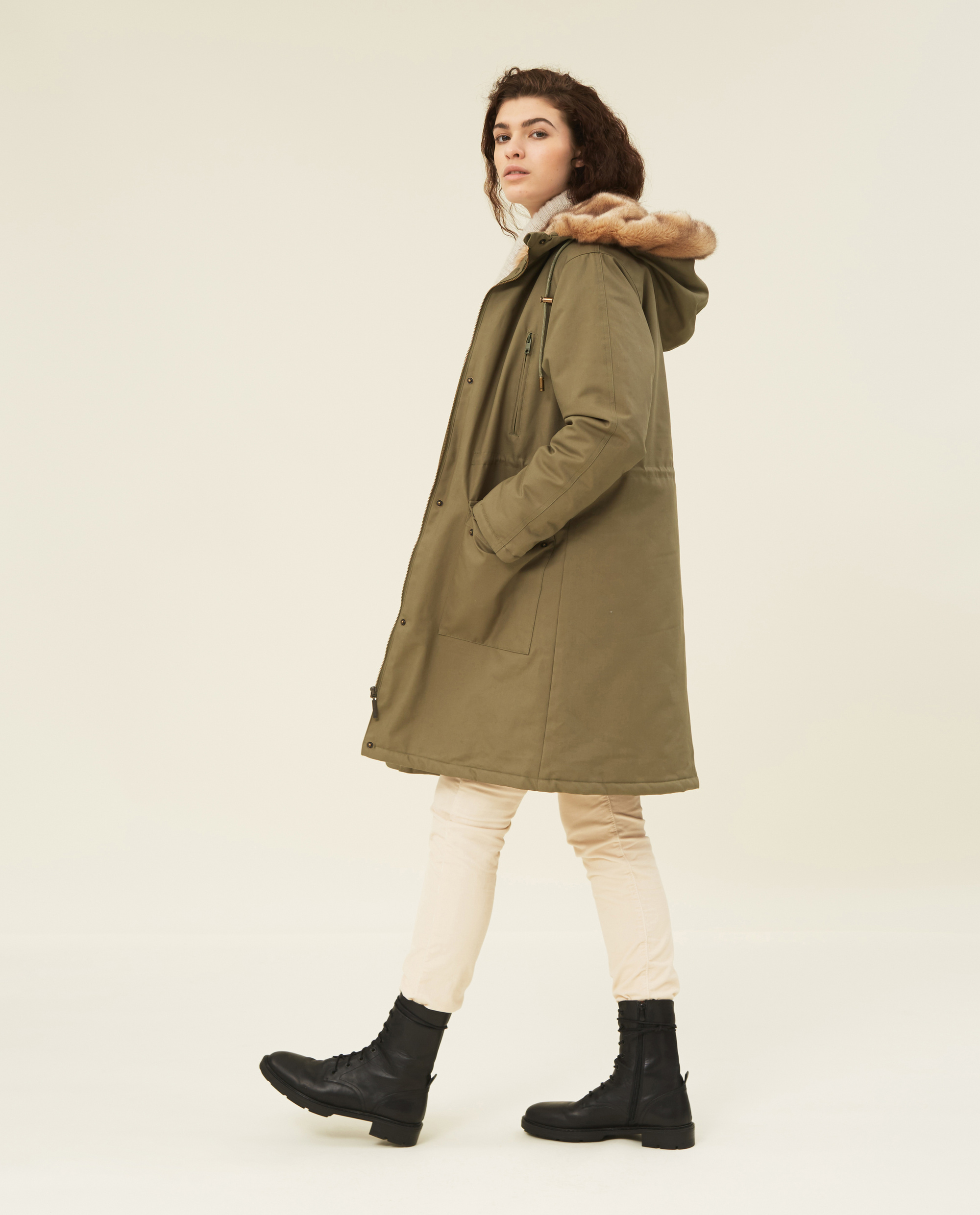 Biella Cotton Parka