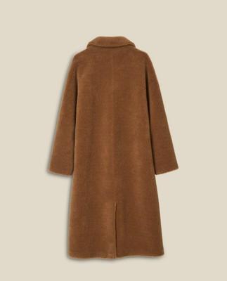 Judith Wool Blend Coat, Brown