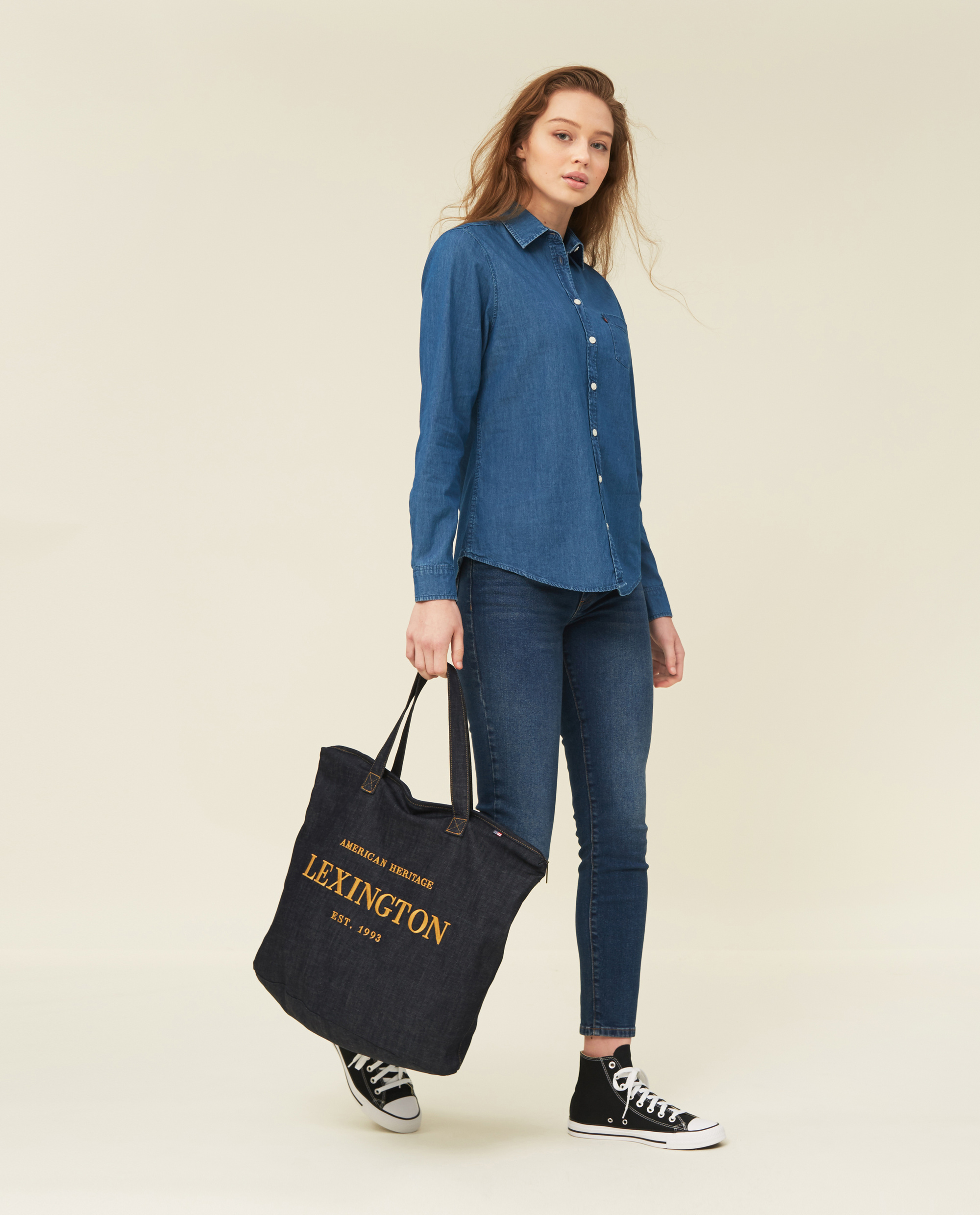 Emily Denim Shirt
