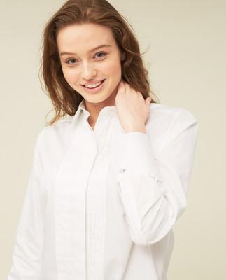 Misha Organic Cotton Shirt, White