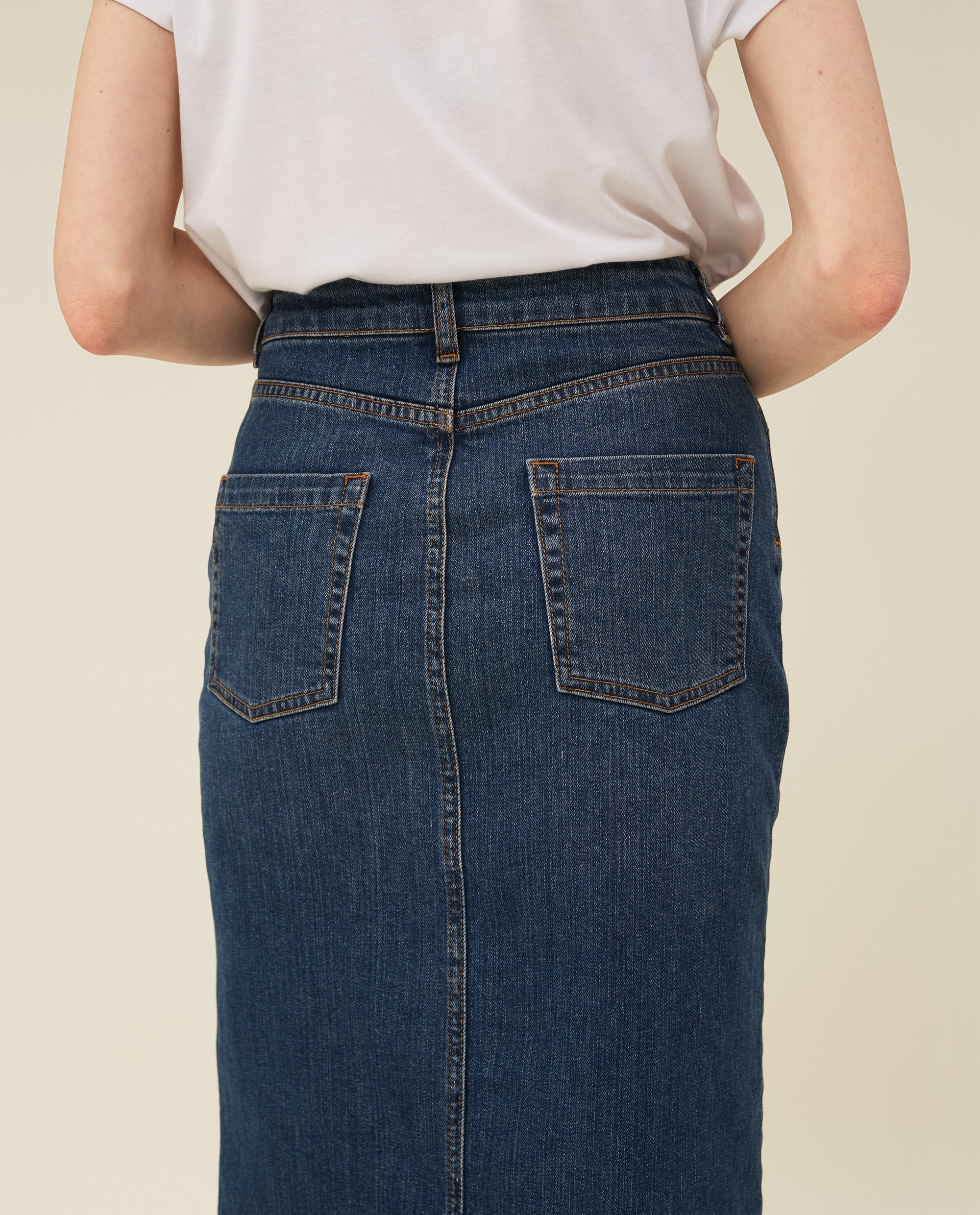 Millie Denim Skirt