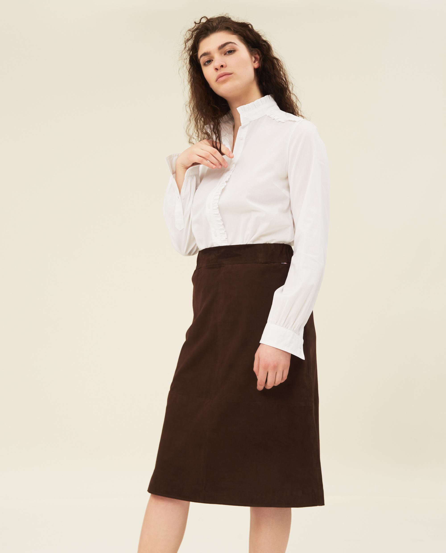 Susan Suede Skirt