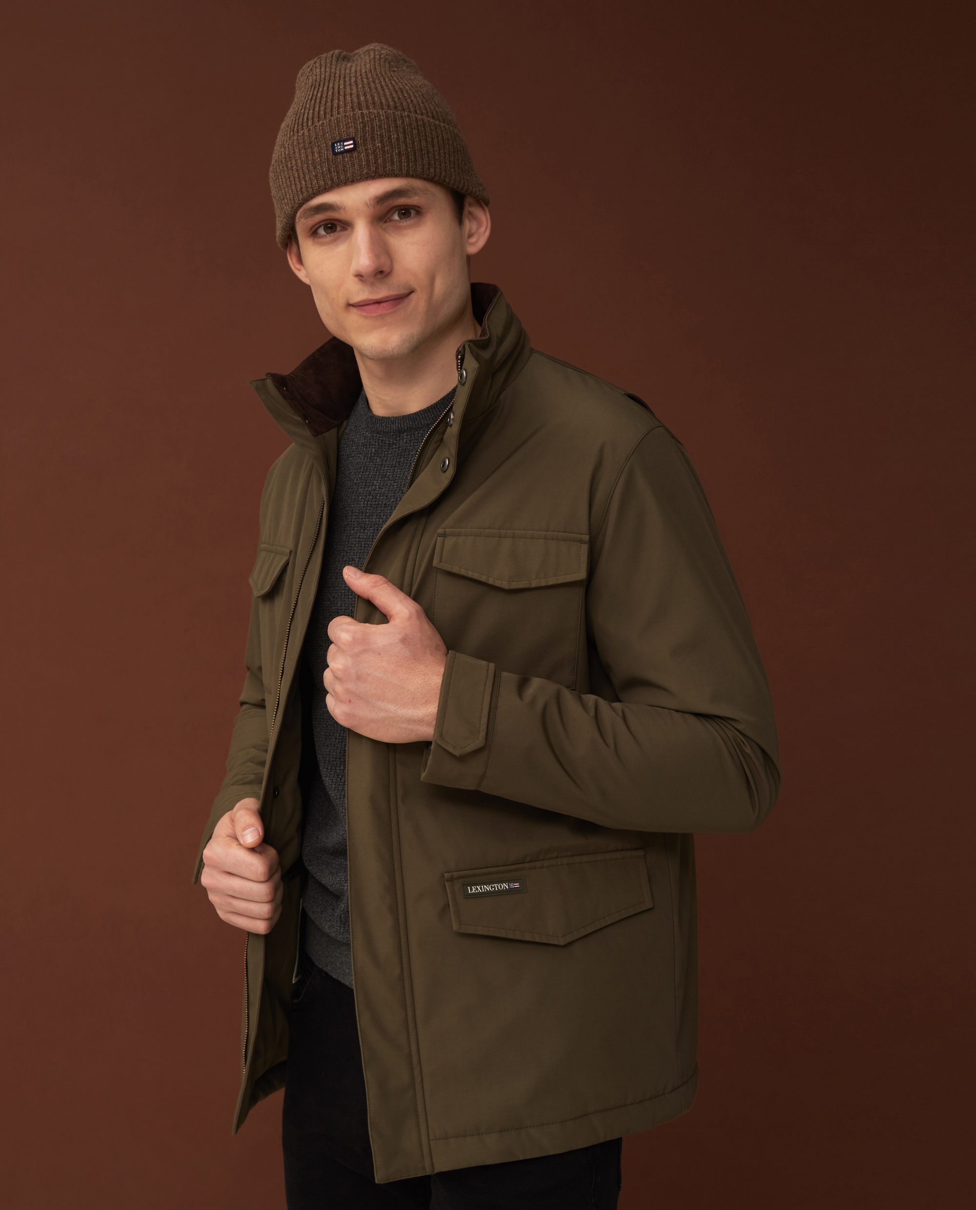 Gaston Jacket, Green