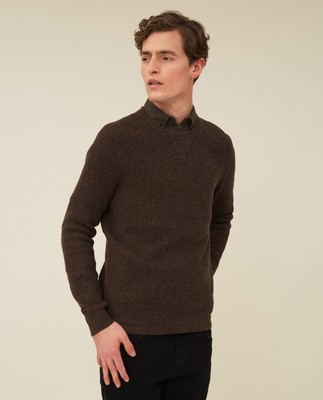 Ewan Merino Wool Blend Sweater