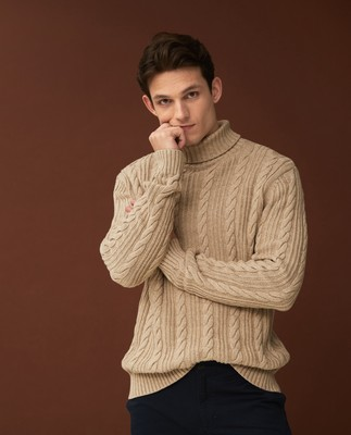 Thor Organic Cotton Roll Neck