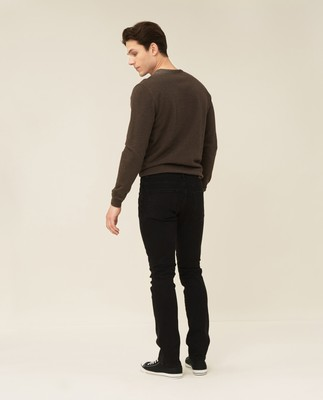 Ray 5-Pocket Jeans, Black Wash