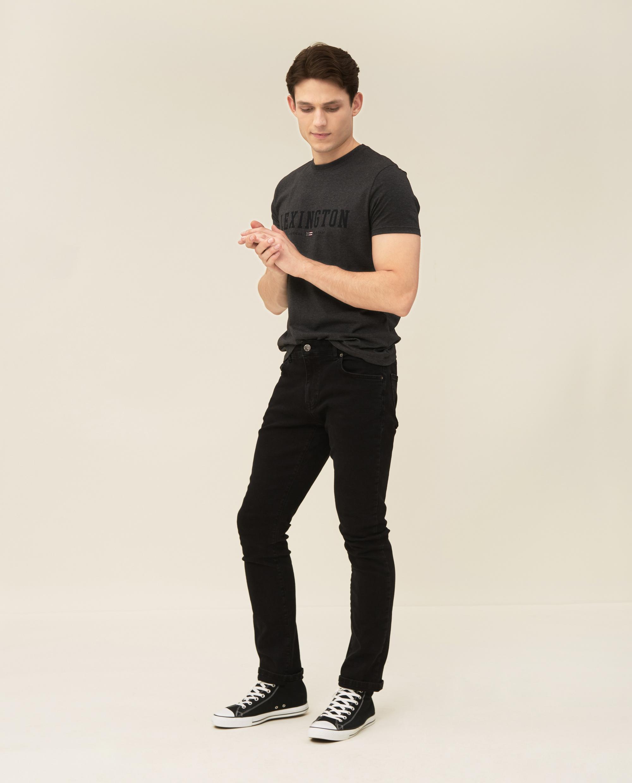 Justin Tee, Dark Gray Melange