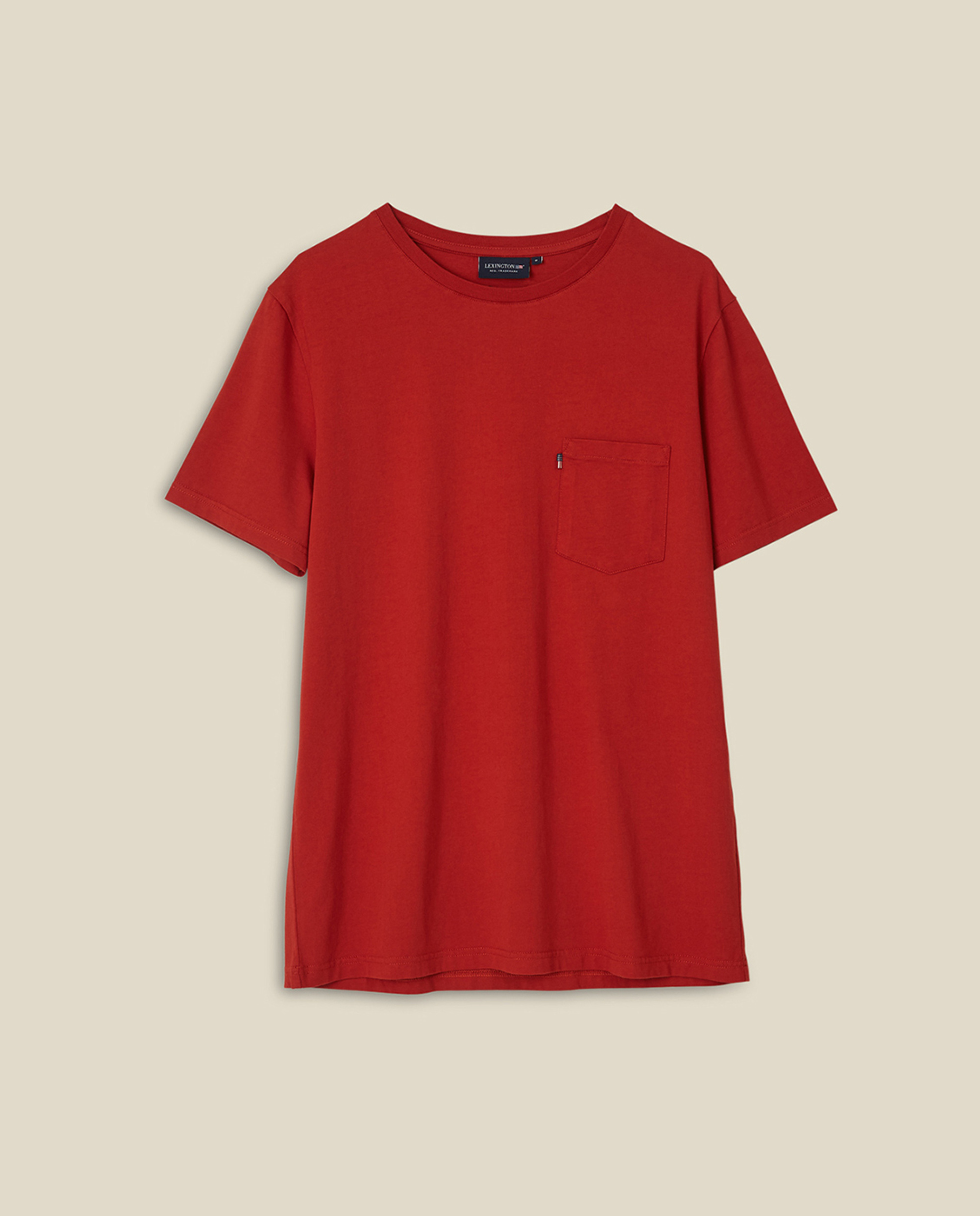 Travis Organic Cotton Tee, Orange