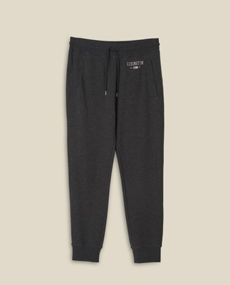 Ivan Track Pants, Dark Gray Melange