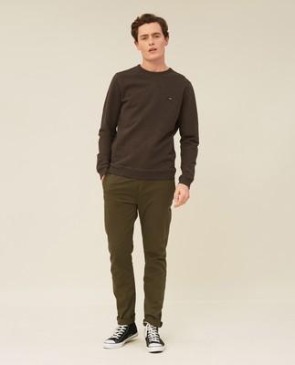 Mateo Sweatshirt, Brown Melange
