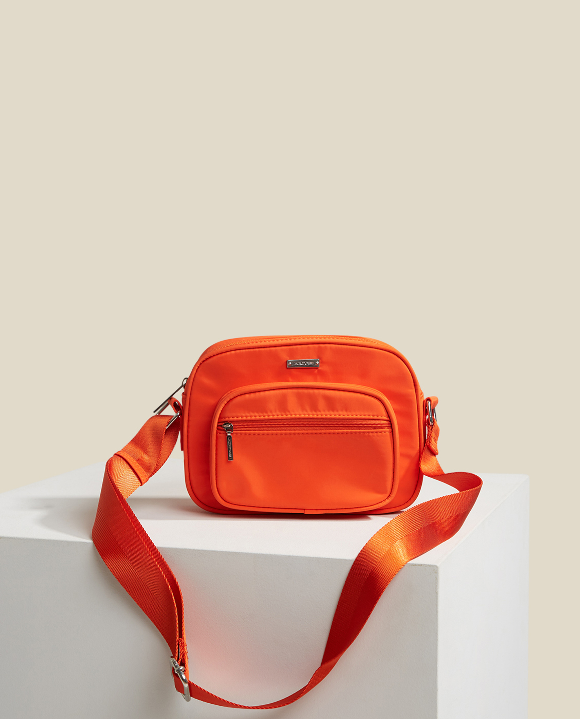 Marlone Crossbody Bag, Orange