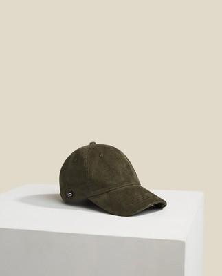 York Corduroy Cap, Dark Green